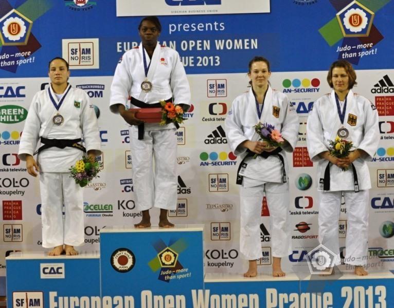María Bernabeu logró el oro en Praga