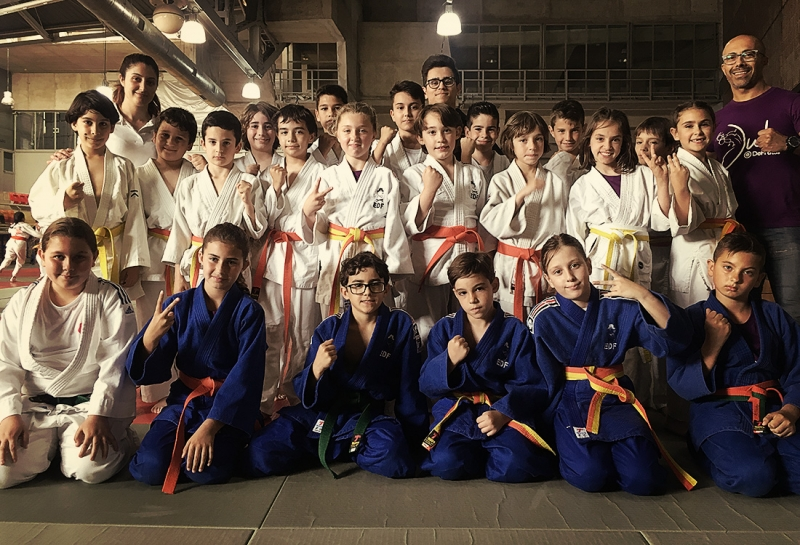 Juegos Escolares de Judo